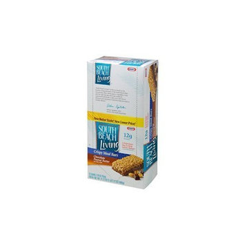 South Beach Diet South Beach Living Meal Replacement Bars, Chocolate Peanut Butter, 1.76 -Ounce Bars (Pack of 12)