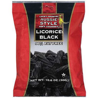 Lucky Country: Licorice Aussie Style Soft Gourmet Black, 10.6 Oz