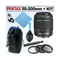 Pentax DA 50-200MM F4-5.6 ED Weather Resistant Zoom Lens Deluxe Kit