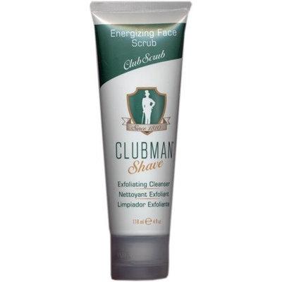 Clubman Exfoliating Cleanser, Energizing Face Scrub, 4 Oz