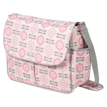 The Bumble Collection Amber - Modern Floral Pink/Grey