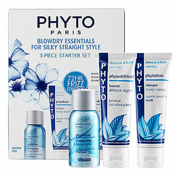 Phyto Blowdry Essentials For Silky Straight Style 3-Piece Starter Set
