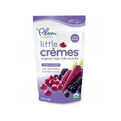 Plum Organics Little Cremes Rice Milk Snacks Super Purples