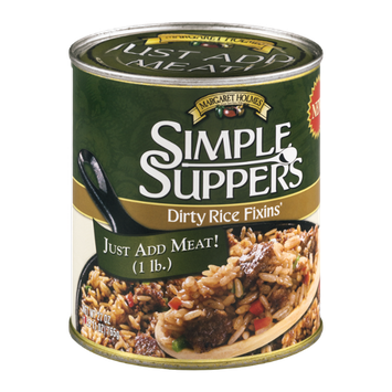 Margaret Holmes Simple Suppers Dirty Rice Fixins'