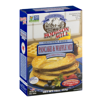 Hodgson Mill Pancake & Waffle Mix With Milled Flax Seed Gluten Free