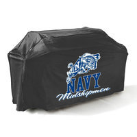 Mr. Bar-b-q Mr. Bar-B-Q NCAA Grill Cover, Navy Midshipmen