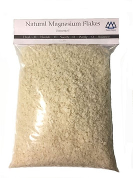 Natural Magnesium Flakes Wasatch Naturals 5 lb Bag