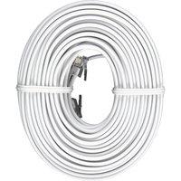 Jasco GE 50' Line Cord White - JASCO