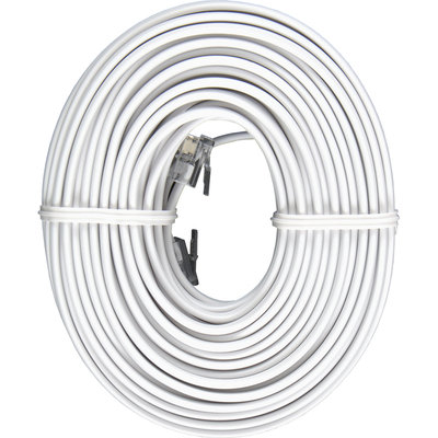 Jasco GE 50' Line Cord White - JASCO