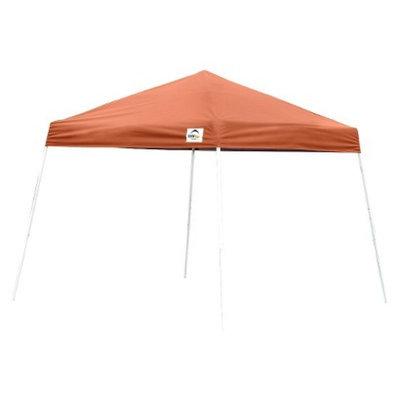 ShelterLogic, LLC. Shelter Logic 8' x 8' Sport Slant Leg Pop-Up Canopy - Terracotta