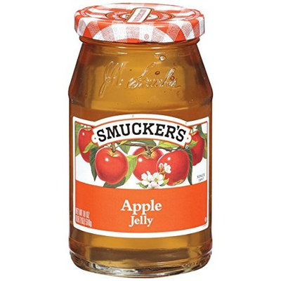 Smuckers Smucker's Apple Jelly, 12-Ounce (Pack of 6)