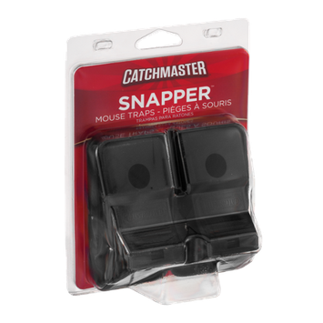 Catchmaster Snapper Mouse Traps - 2 CT