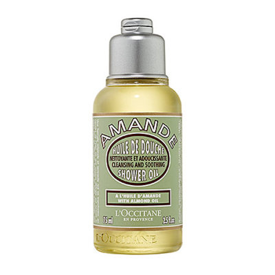 L'Occitane Cleansing And Softening Shower Oil With Almond Oil 2.5 oz