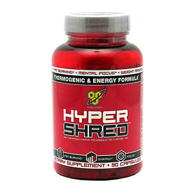 BSN Hyper Shred Thermodynamic Metabolic Activator Capsules