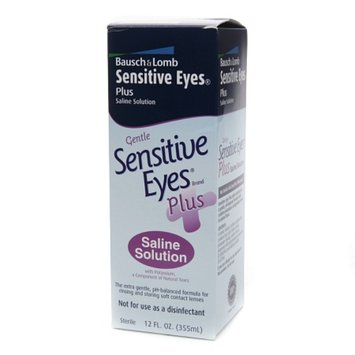 Sensitive Eyes Plus Saline Solution For Soft Contact Lenses