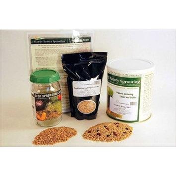 Handy Pantry Basic Ezekiel Bread Making Kit - Make Ezekiel / Bible Flour & Bread - Organic