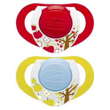 Chicco NaturalFit 2pk 12M+ Deco Orthondonic Pacifier - Neutral