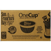 San Francisco Bay Coffee San Francisco Bay OneCup, French Roast, 80 Single Serve Coffees [French Roast, 80 Count]