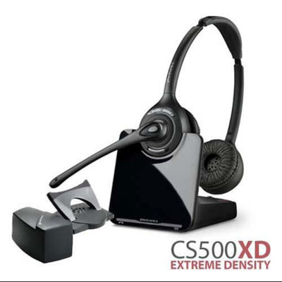 Plantronics CS520 XD Stereo Wireless Headset With Lifter