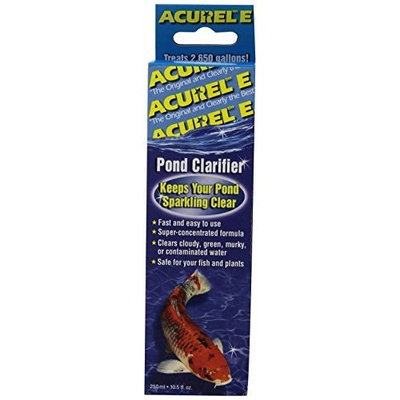 Loving Pets Acurel E250 Millimeter Pond Clarifier, Treats 2,650 Gallons