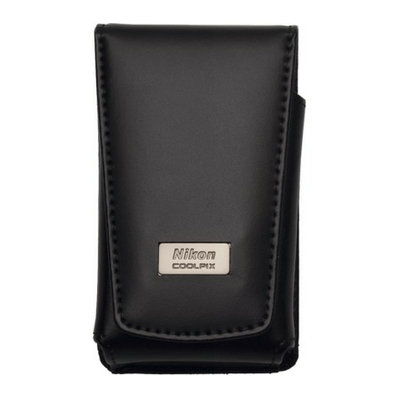 Nikon Coolpix Deluxe Leather Case - Black (5811)