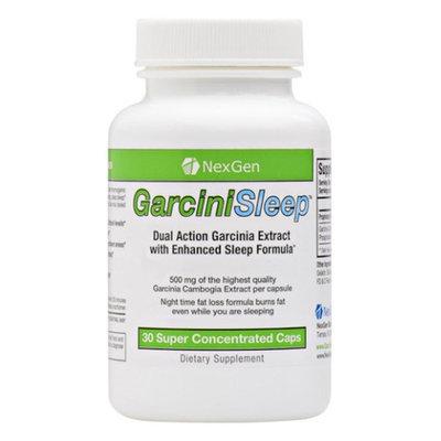 Nexgen Biolabs GarciniSleep - 500mg Garcinia per capsule 60% HCA. Stimulant free night-time fat burner