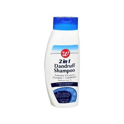 Walgreens 2 in 1 Dandruff Shampoo + Conditioner