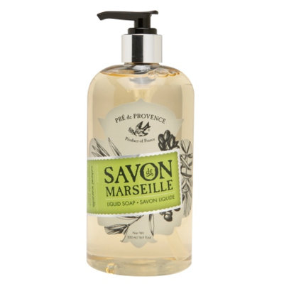 Pre de Provence Savon De Marseille Liquid Soap, Natural Marseille, 16.9 oz