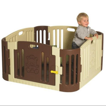 Children's Factory Play Zone in Tan/Brown