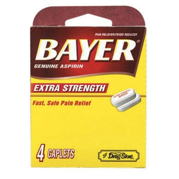 Lil' Drug Store Bayer® Extra Strength Aspirin - 6 Packs of 4
