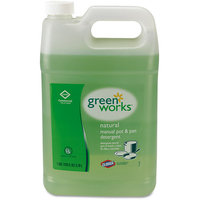 Clorox Green Works 30388 Natural Pot and Pan Detergent - 1 Gallon