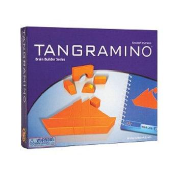 FoxMind Games Tangramino Game Ages 5+, 1 ea