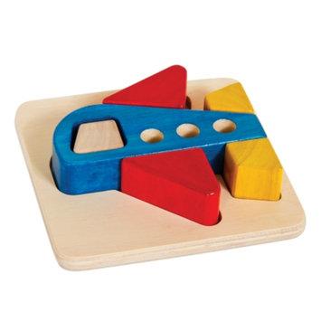 Guidecraft Primary Puzzle - Airplane, Multi, 1 ea