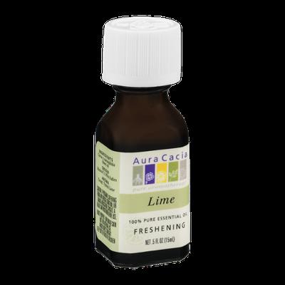 Aura Cacia Pure Aromatherapy 100% Pure Essential Oil Lime