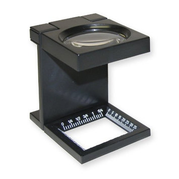 Carson Optical Linentest Magnifier 3X with 50mm Lens