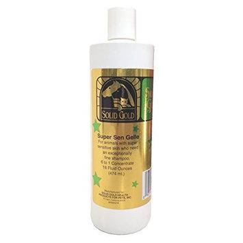 SOLID GOLD 937785 Supersen Gelle Shampoo, 16-Ounce