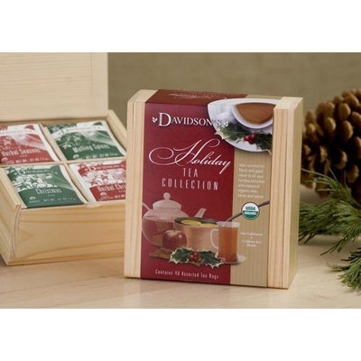 Davidson's Tea Davidson Organic Tea 621 Collection Chest Holiday Tea