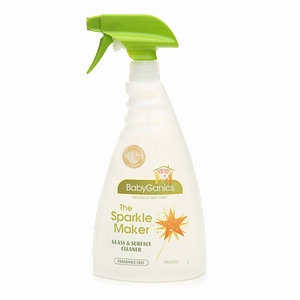 BabyGanics The Sparkle Maker Glass & Surface Cleaner