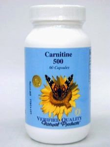 L-Carnitine 500 mg 60 caps by Verified Quality