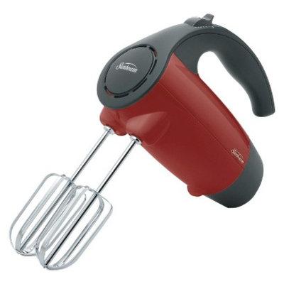 Sunbeam 200-Watt Hand Mixer- Red