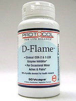 D-Flame 90 vcaps by Protocol For Life Balance