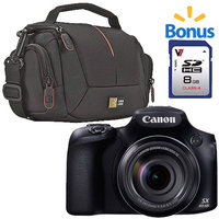 Canon PowerShot SX60 HS 16.1MP Digital Camera with 65X Optical Zoom -