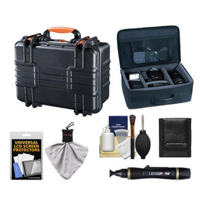 Vanguard Supreme 37F Waterproof and Airtight Hard Case with Foam with Divider Bag + Accessory Kit