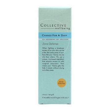 Collective Wellbeing Change for A Day Cream, 1.75 Ounce