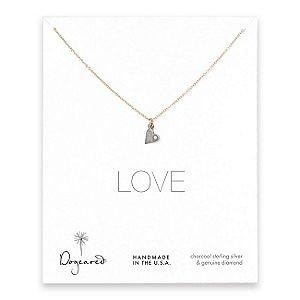 Dogeared Diamond Love Necklace
