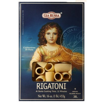 Gia Russa Rigatoni, 16-Ounce (Pack of 8)