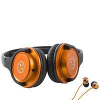 Able Planet Travelers' Choice Stereo Headphones - Orange