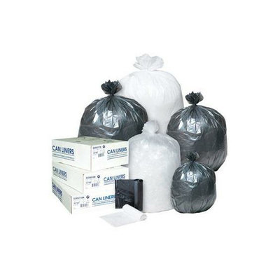 Inteplast Group Integrated Bagging Systems S303708N Clear 8 Mic High Density Can Liners