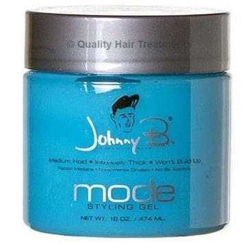 Johnny B Hair Gel, 16 Ounce