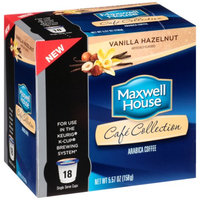 Maxwell House Café Collection Vanilla Hazelnut